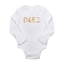 DEEZ Nuts Long Sleeve Infant Bodysuit