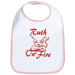Ruth On Fire Bib