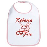 Roberta On Fire Bib