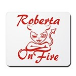 Roberta On Fire Mousepad