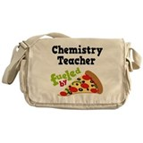 Math Teacher Funny Pizza Messenger Bag