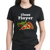 Chess Player Funny Pizza Tee