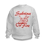 Sabrina On Fire Kids Sweatshirt