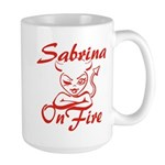 Sabrina On Fire Large Mug
