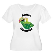 Retired Librarian turtle T-Shirt