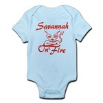 Savannah On Fire Infant Bodysuit