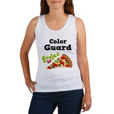 Color Guard Funny Pizza Women's Tank Top