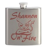 Shannon On Fire Flask
