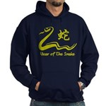 Chinese Year of The Earth Snake 1989 Hoodie (dark)