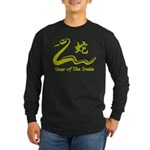 Chinese Year of The Earth Snake 1989 Long Sleeve D