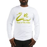 Chinese Year of The Earth Snake 1989 Long Sleeve T