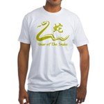 Chinese Year of The Earth Snake 1989 Fitted T-Shir