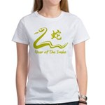 Chinese Year of The Earth Snake 1989 Women's T-Shi