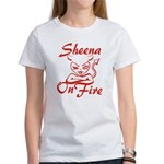 Sheena On Fire Women's T-Shirt