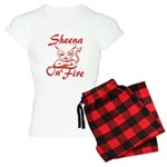 Sheena On Fire Women's Light Pajamas