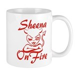 Sheena On Fire Mug
