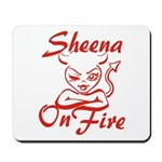 Sheena On Fire Mousepad