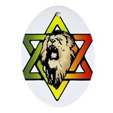 Judah Lion - Reggae Rasta! Ornament (Oval)