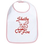 Shelby On Fire Bib