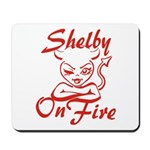 Shelby On Fire Mousepad