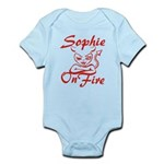 Sophie On Fire Infant Bodysuit
