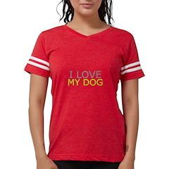 XM2-Two Bull Mastiffs Organic Toddler T-Shirt (dar
