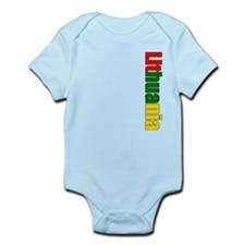 Lithuania Logo Infant Bodysuit