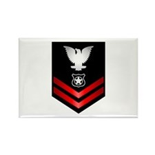 Navy PO2 Master at Arms Rectangle Magnet