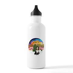 XMusic2 - Beardie (gry) Stainless Water Bottle 1.0