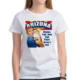 Cute Support arizona Tee