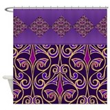 Purple Egyptian Pattern