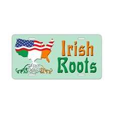 American Irish Roots Aluminum License Plate
