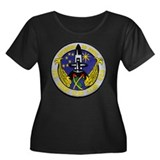 USS HENRY CLAY Women's Plus Size Scoop Neck Dark T