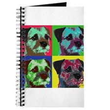 Pop Art Border Terrier Journal