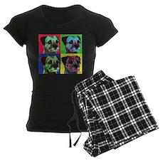 Pop Art Border Terrier Pajamas