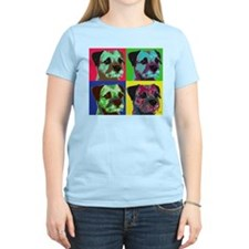 Pop Art Border Terrier T-Shirt