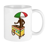 Italian Ice Push Cart Retro Mug