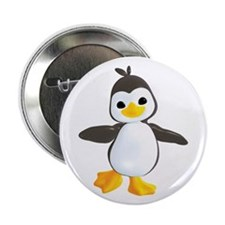 "Penguin Dance 2.25"" Button (10 pack)"