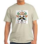 Massey Coat of Arms Ash Grey T-Shirt