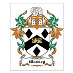 Massey Coat of Arms Small Poster