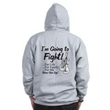 Bone Cancer FIGHT Zip Hoodie