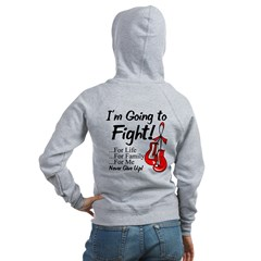 Blood Cancer FIGHT Women's Zip Hoodie
