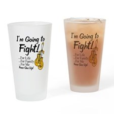 Appendix Cancer FIGHT Drinking Glass
