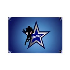 Dallas yard Sign.png Rectangle Magnet