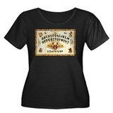 Vintage Egyptian Ouija Board Women's Plus Size Sco