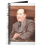 CS Lewis Aim At Heaven Quote Gifts Journal