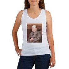 CS Lewis Aim At Heaven Quote Gifts Women's Tank To