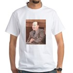 CS Lewis Aim At Heaven Quote Gifts White T-Shirt