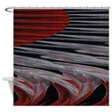 Contemporary Stripes Shower Curtain