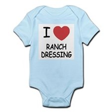 I heart ranch dressing Infant Bodysuit